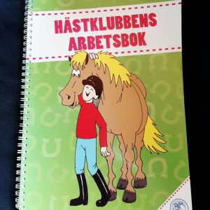 Hästklubbens arbetsbok vihkon kansikuva